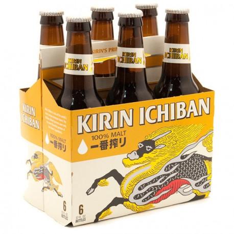 Kirin (bière japonaise) 6x33cl