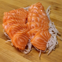 Sashimi saumon x 15