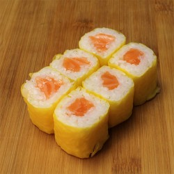 Yellow maki saumon