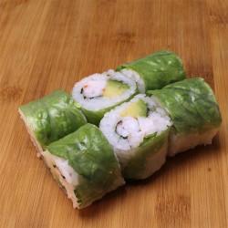 Spring rolls crevette/avocat/menthe