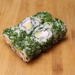 Green rolls crevette/mayo/avocat