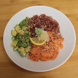 Chirashi thon/saumon/avocat
