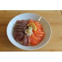 Chirashi thon/saumon