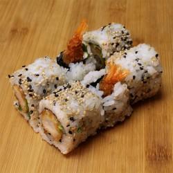 California tempura/crevette/mayo/salade
