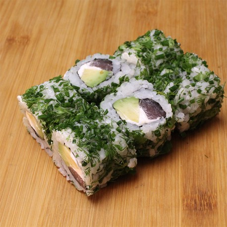 Green rolls thon/avocat/cheese