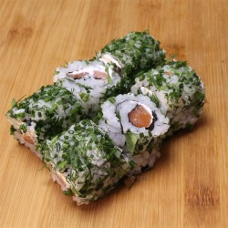 Green rolls saumon/cheese