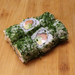 Green rolls saumon/avocat/cheese